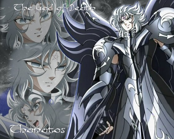 saint seiya thanatos wallpaper2