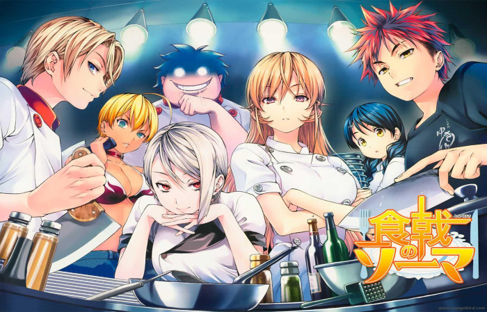 shokugeki-no-soma-wallpaper1-700x449 Food Wars! (Shokugeki no Souma) Panel with Yuto Tsukuda at Anime Expo 2017