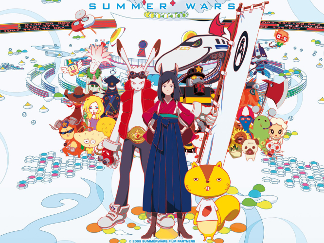 summer-wars-wallpaper-666x500 Top 5 Mamoru Hosoda Movies [Best Recommendations]