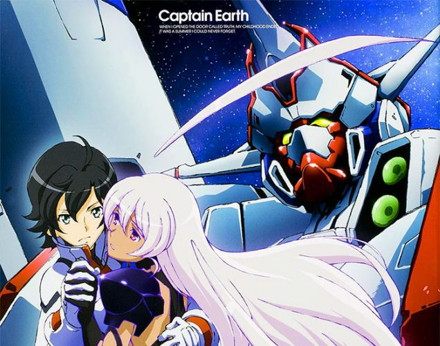 Captain Earth wallpaper