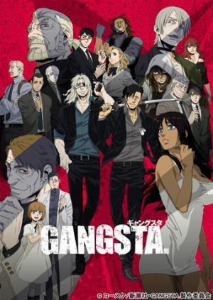 GangstaVisual-300x423 6 Anime Like Gangsta. [Recommendations]