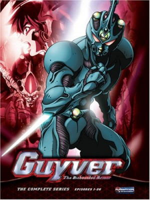 Kyoushoku Soukou Guyver dvd