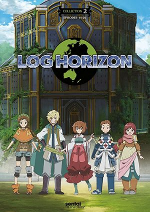 Log Horizon dvd
