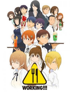 Working-dvd-300x392 6 Anime Like Working!! (Wagnaria!!) [Recommendations]