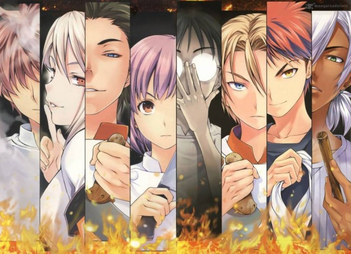 food wars wallpaper 02