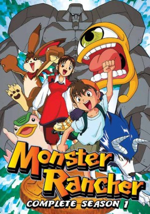 monster rancher dvd