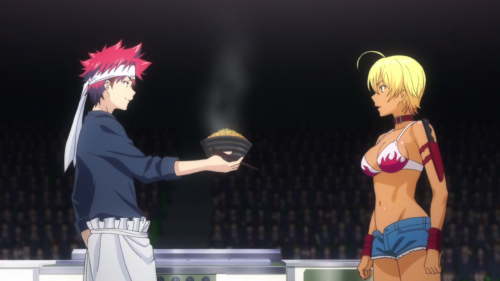 shokugeki-no-soma-wallpaper1-700x449 Shokugeki no Soma  (Food Wars) Review & Characters - The Kitchen is a Battlefield