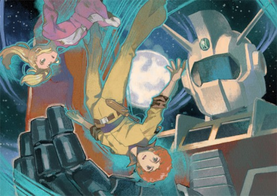 space runaway ideon fan art 03