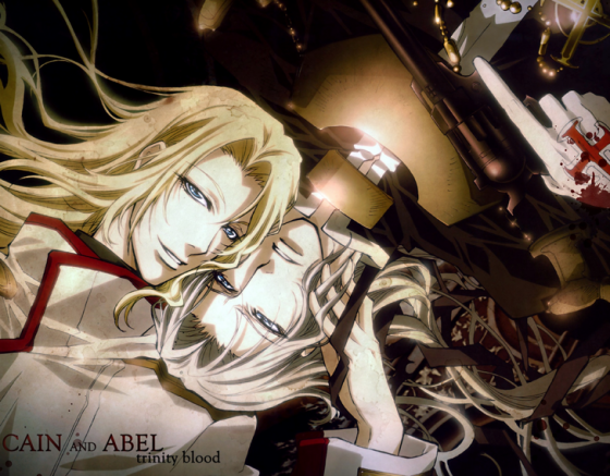 trinity blood cain and abel wallpaper
