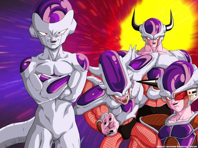 Freeza transformation list
