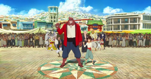 bakemono-no-ko-wallpaper-500x263 The Boy and The Beast Brings In Over 5 Billion Yen!