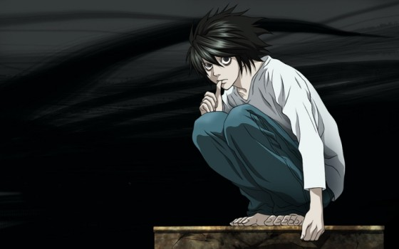 death note l wallpaper