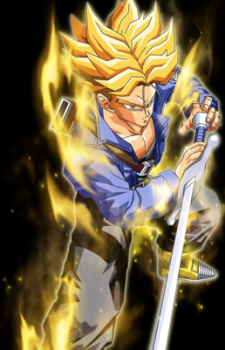 dragonball future trunks super saiyan