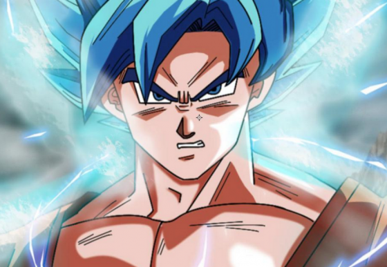 dragonball goku super saiyan god ss