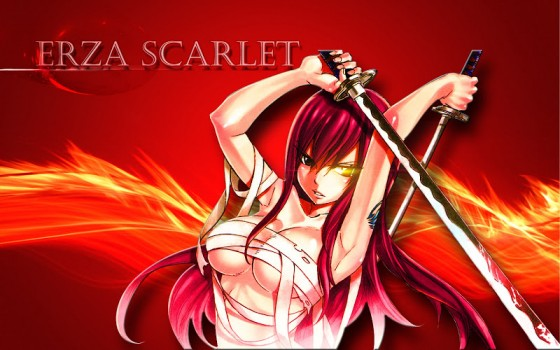 fairy tail erza scarlet wallpaper