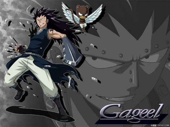 fairy tail gajeel wallpaper