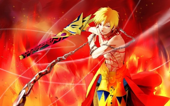 fate stay night gilgamesh