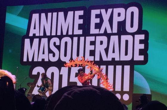 fun with cosplay at anime expo3