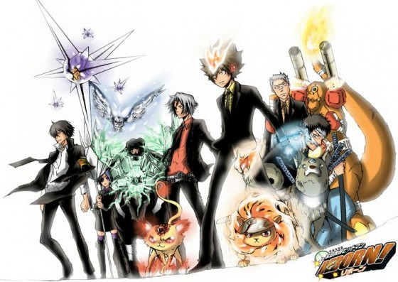 katekyo hitman reborn wallpaper