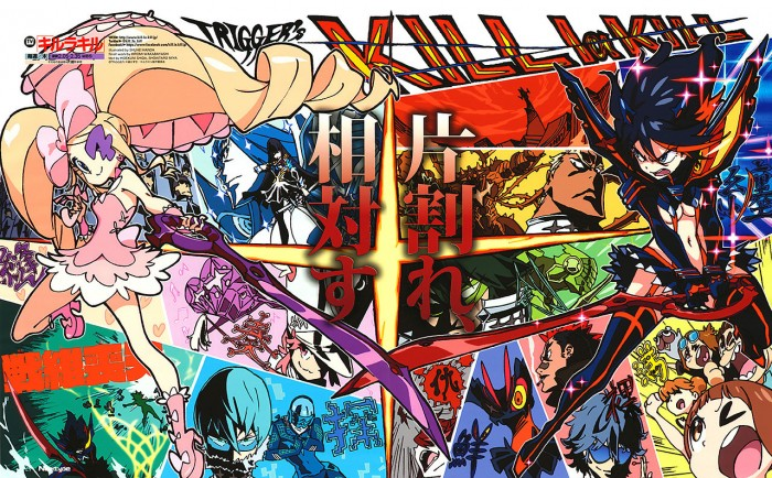 kill-la-kill-wallpaper1-700x434 Top 5 Anime by CJL (Honey's Anime Writer)