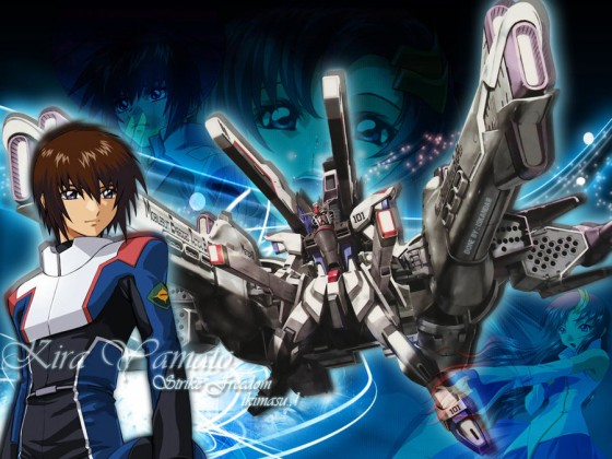 mobile suits gundam seed kira yamato wallpaper