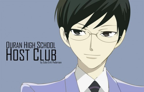 ouran highschool host club kyouya fanart