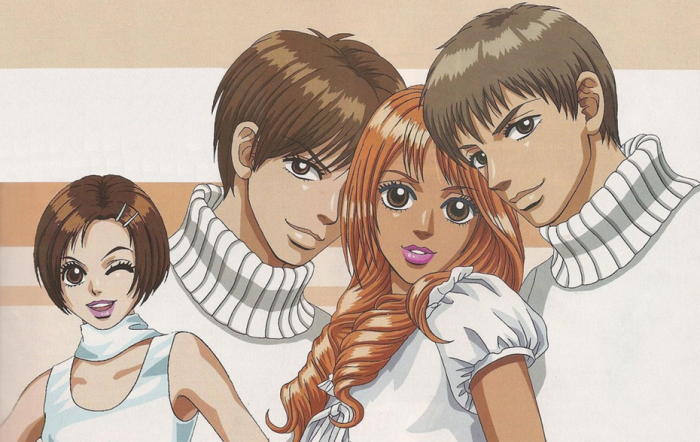 peach girl wallpaper