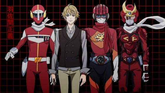 samurai flamenco wallpaper