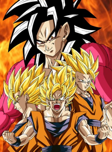 super saiyan list fan art