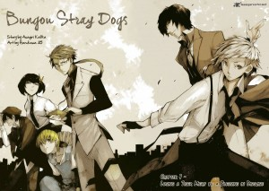 Bungou Stray Dogs Anime Adaptation Announced