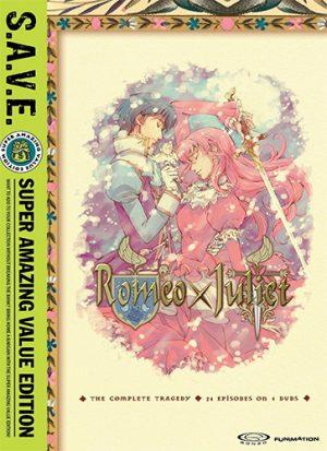 Romeo X Juliet dvd