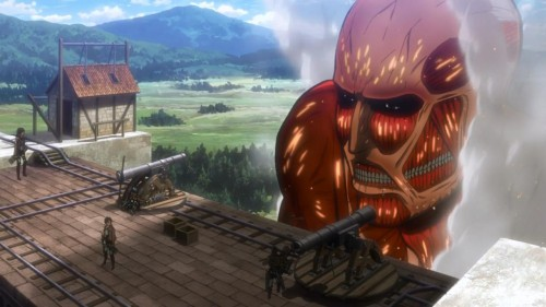 Shingeki-no-Kyojin-oogata-500x281 Anime Worlds You Don't Want to Live In