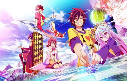 No Game No Life | Anime-Planet