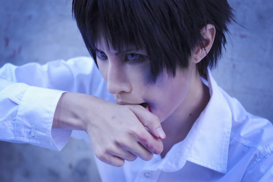 attack of titan cosplay Eren09