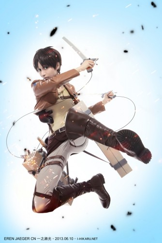attack of titan cosplay Eren12