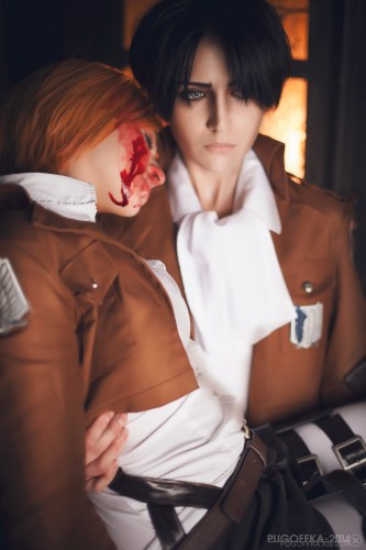 attack of titan cosplay levi16