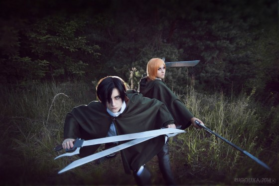 attack of titan cosplay levi20