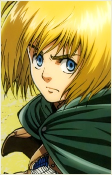 attack on titan armin arlert