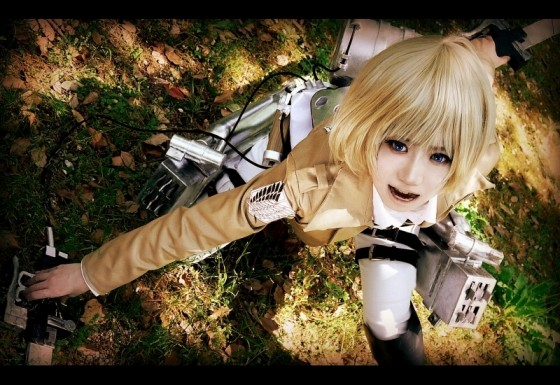 attack on titan cosplay armin01