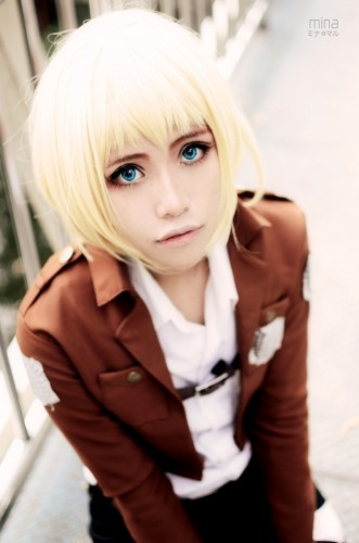 attack on titan cosplay armin03