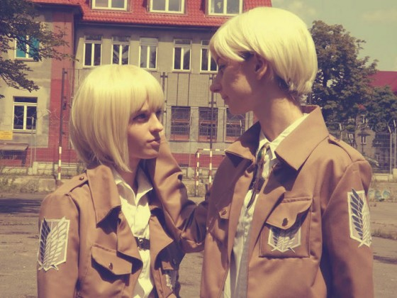 attack on titan cosplay armin05