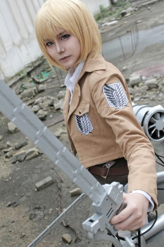 attack on titan cosplay armin07