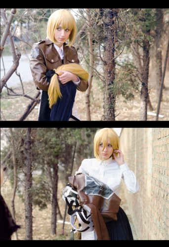 attack on titan cosplay armin08
