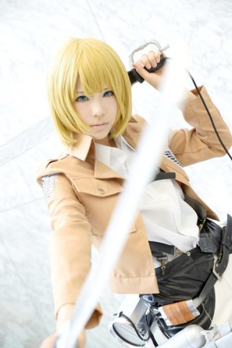 attack on titan cosplay armin09