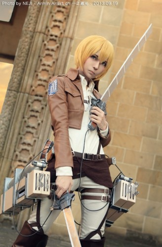 attack on titan cosplay armin13