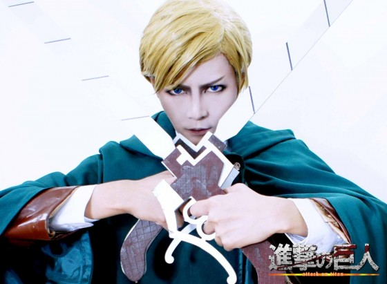 attack on titan cosplay erwin01