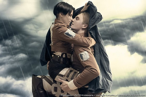 attack on titan cosplay erwin05