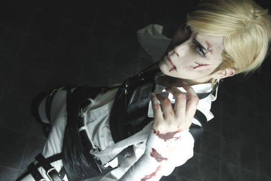 attack on titan cosplay erwin06