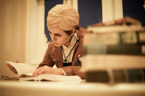 attack on titan cosplay erwin07