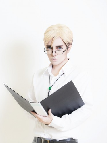 attack on titan cosplay erwin08